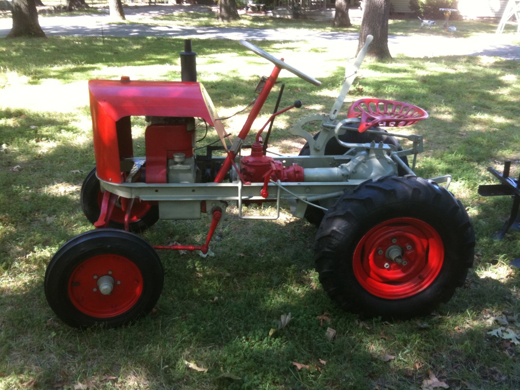 Our garden tractors rare garden tractors for Garden machinery for sale