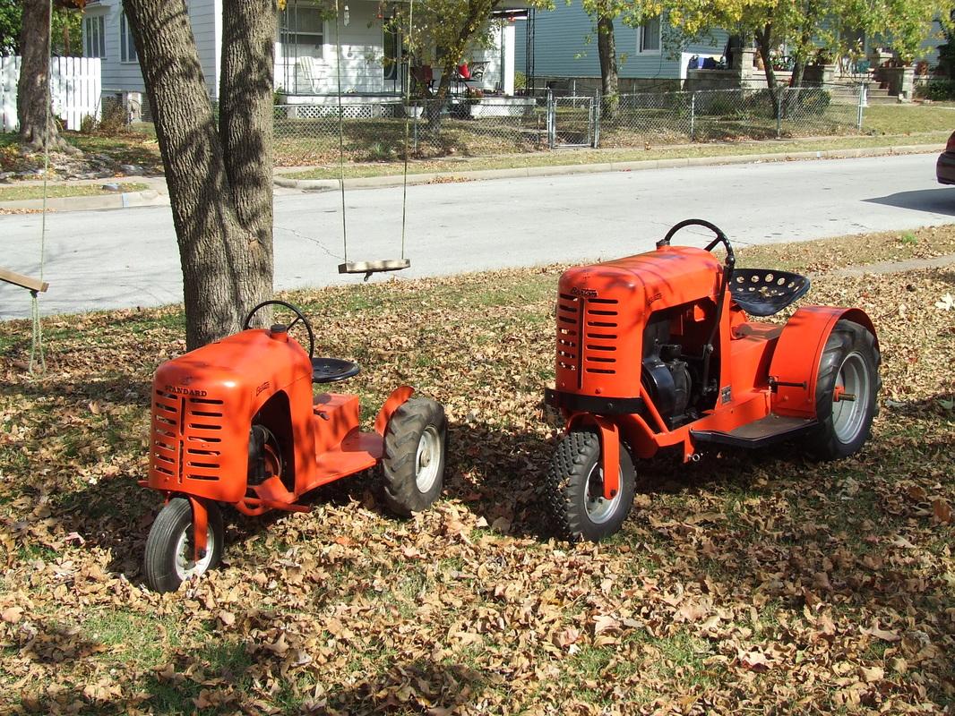 Antique Tractors In Ohio : Our garden tractors rare