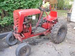 Garden Tractors Wanted Rare Garden Tractors
