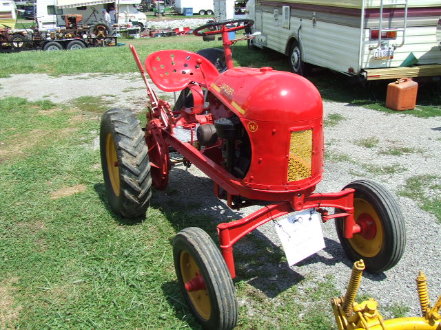 Remarkable, Small garden tractors vintage or antique nonsense!